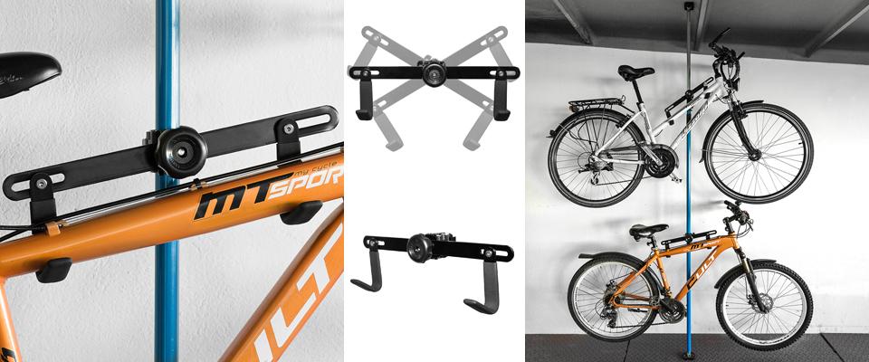 Fahrradhalter - Fahrradaufhängung
